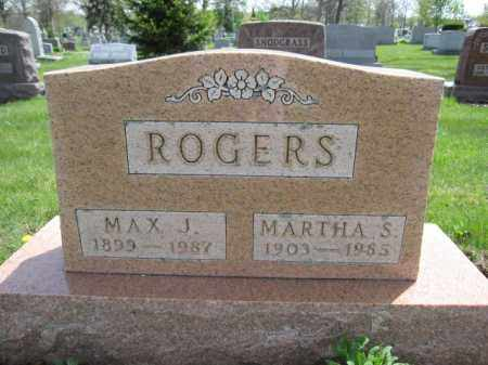 ROGERS, MAX J. - Union County, Ohio | MAX J. ROGERS - Ohio Gravestone Photos