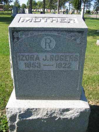 ROGERS, ZORA J. - Union County, Ohio | ZORA J. ROGERS - Ohio Gravestone Photos