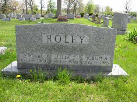 ROLEY, JULIA J. - Union County, Ohio | JULIA J. ROLEY - Ohio Gravestone Photos