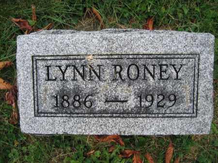 RONEY, LYNN - Union County, Ohio | LYNN RONEY - Ohio Gravestone Photos