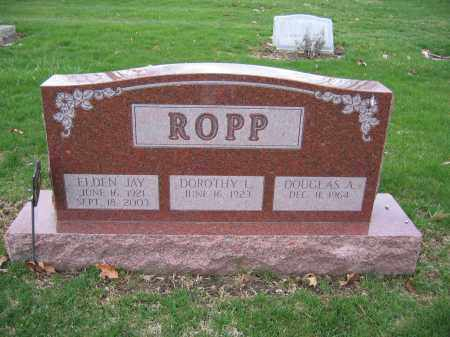 ROPP, DOROTHY - Union County, Ohio | DOROTHY ROPP - Ohio Gravestone Photos