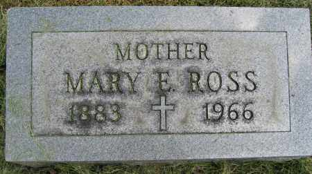 ROSS, MARY E. - Union County, Ohio | MARY E. ROSS - Ohio Gravestone Photos
