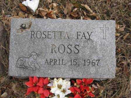 ROSS, ROSETTA FAY - Union County, Ohio | ROSETTA FAY ROSS - Ohio Gravestone Photos