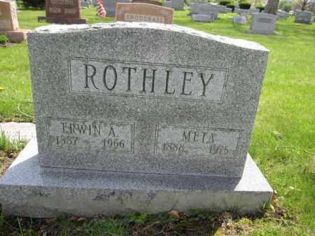 ROTHLEY, ERWIN A. - Union County, Ohio | ERWIN A. ROTHLEY - Ohio Gravestone Photos