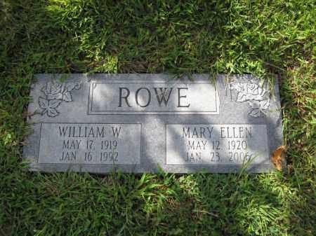 ROWE, MARY ELLEN - Union County, Ohio   MARY ELLEN ROWE - Ohio Gravestone Photos