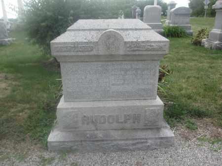 RUDOLPH, CONRAD - Union County, Ohio   CONRAD RUDOLPH - Ohio Gravestone Photos