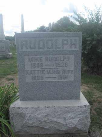 RUDOLPH, KATTIE M. - Union County, Ohio | KATTIE M. RUDOLPH - Ohio Gravestone Photos