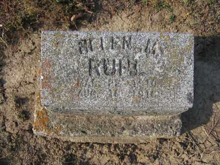 RUHL, HELEN M. - Union County, Ohio | HELEN M. RUHL - Ohio Gravestone Photos