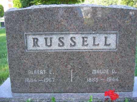 RUSSELL, MAUDE D. - Union County, Ohio | MAUDE D. RUSSELL - Ohio Gravestone Photos
