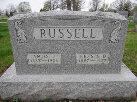 RUSSELL, AMOS - Union County, Ohio | AMOS RUSSELL - Ohio Gravestone Photos
