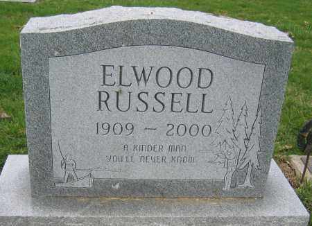 RUSSELL, ELWOOD A. - Union County, Ohio | ELWOOD A. RUSSELL - Ohio Gravestone Photos