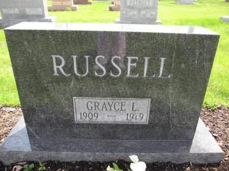 RUSSELL, GRAYCE L. - Union County, Ohio | GRAYCE L. RUSSELL - Ohio Gravestone Photos