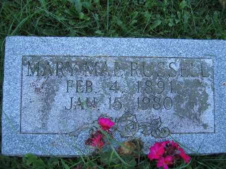 RUSSELL, MARY MAE - Union County, Ohio | MARY MAE RUSSELL - Ohio Gravestone Photos