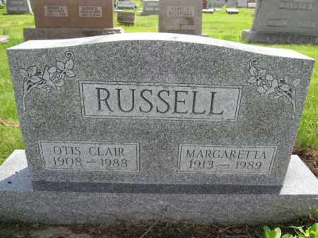RUSSELL, OTIS CLAIR - Union County, Ohio | OTIS CLAIR RUSSELL - Ohio Gravestone Photos