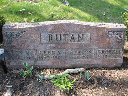 RUTAN, ETHLYN - Union County, Ohio | ETHLYN RUTAN - Ohio Gravestone Photos