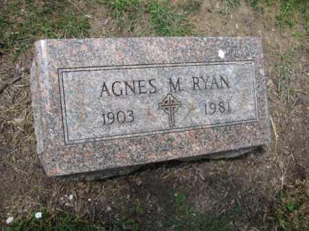 RYAN, AGNES M. - Union County, Ohio | AGNES M. RYAN - Ohio Gravestone Photos