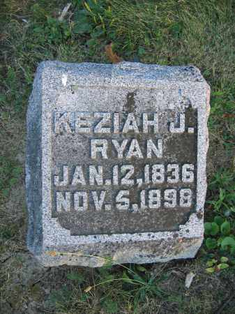 RYAN, KEZIAH J. - Union County, Ohio | KEZIAH J. RYAN - Ohio Gravestone Photos