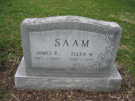 SAAM, ELLEN W. - Union County, Ohio | ELLEN W. SAAM - Ohio Gravestone Photos