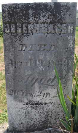 SAGER, JOSEPH - Union County, Ohio | JOSEPH SAGER - Ohio Gravestone Photos