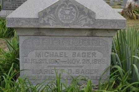 SAGER, MICHAEL - Union County, Ohio | MICHAEL SAGER - Ohio Gravestone Photos