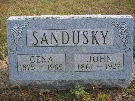 SANDUSKY, JOHN - Union County, Ohio | JOHN SANDUSKY - Ohio Gravestone Photos