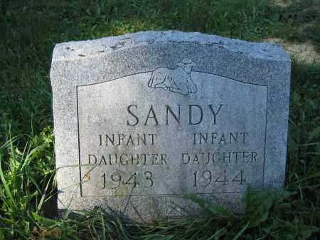 SANDY, INFANT DAUGHTER - Union County, Ohio   INFANT DAUGHTER SANDY - Ohio Gravestone Photos