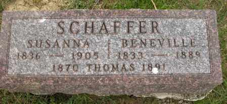 SCHAFFER, THOMAS - Union County, Ohio | THOMAS SCHAFFER - Ohio Gravestone Photos