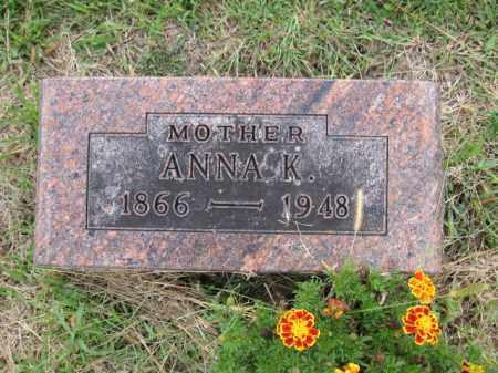 SCHALIP, ANNA K. - Union County, Ohio | ANNA K. SCHALIP - Ohio Gravestone Photos