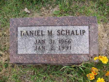 SCHALIP, DANIEL M. - Union County, Ohio | DANIEL M. SCHALIP - Ohio Gravestone Photos