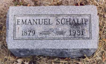SCHALIP, EMANUEL - Union County, Ohio | EMANUEL SCHALIP - Ohio Gravestone Photos