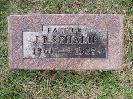 SCHALIP, J.P. - Union County, Ohio   J.P. SCHALIP - Ohio Gravestone Photos