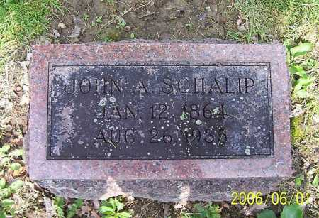 SCHALIP, JOHN A - Union County, Ohio | JOHN A SCHALIP - Ohio Gravestone Photos