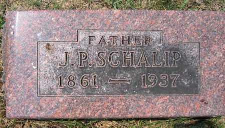 SCHALIP, J.P. - Union County, Ohio | J.P. SCHALIP - Ohio Gravestone Photos
