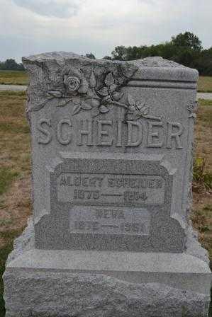 SCHEIDERER, ALBERT - Union County, Ohio | ALBERT SCHEIDERER - Ohio Gravestone Photos