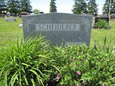 SCHEIDERER, ELMER J. - Union County, Ohio | ELMER J. SCHEIDERER - Ohio Gravestone Photos