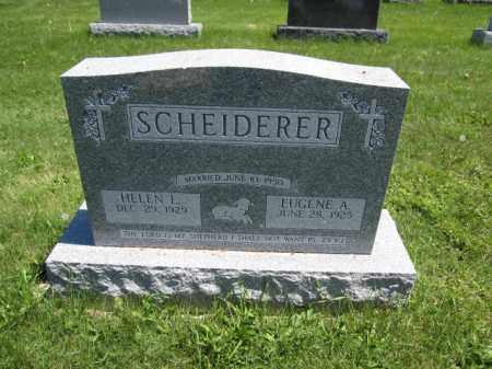 SCHEIDERER, HELEN L. - Union County, Ohio   HELEN L. SCHEIDERER - Ohio Gravestone Photos