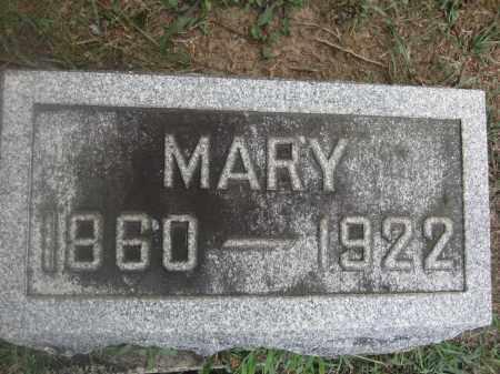 SCHEIDERER, MARY - Union County, Ohio | MARY SCHEIDERER - Ohio Gravestone Photos