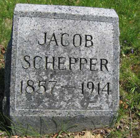 SCHEPPER, JACOB - Union County, Ohio | JACOB SCHEPPER - Ohio Gravestone Photos