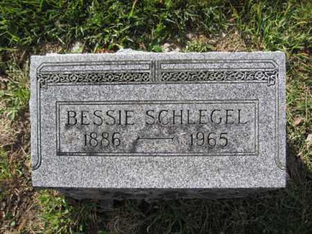 SCHLEGEL, BESSIE - Union County, Ohio   BESSIE SCHLEGEL - Ohio Gravestone Photos