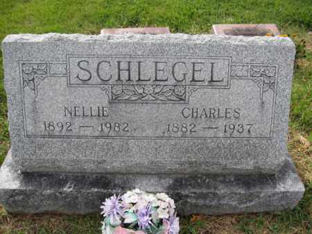 SCHLEGEL, NELLIE GRIMES - Union County, Ohio | NELLIE GRIMES SCHLEGEL - Ohio Gravestone Photos