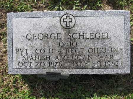 SCHLEGEL, GEORGE - Union County, Ohio | GEORGE SCHLEGEL - Ohio Gravestone Photos