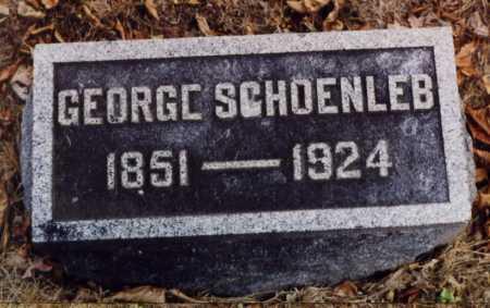 SCHOENLEB, GEORGE - Union County, Ohio   GEORGE SCHOENLEB - Ohio Gravestone Photos