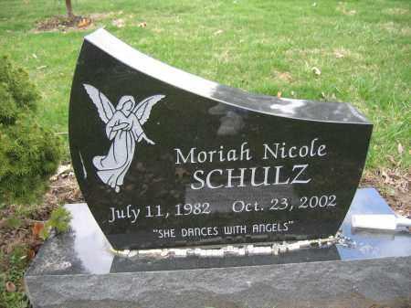 SCHULZ, MORIAH NICOLE - Union County, Ohio | MORIAH NICOLE SCHULZ - Ohio Gravestone Photos