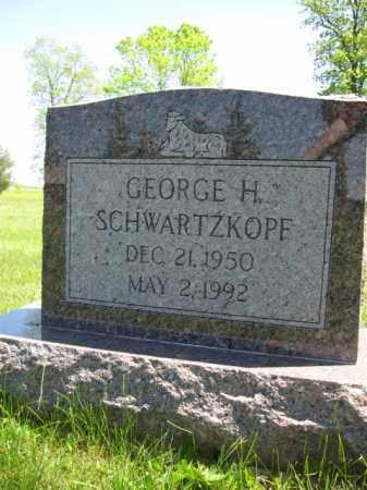 SCHWARTZKOPF, GEORGE H. - Union County, Ohio | GEORGE H. SCHWARTZKOPF - Ohio Gravestone Photos