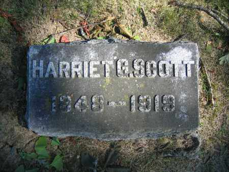 SCOTT, HARRIET G. - Union County, Ohio | HARRIET G. SCOTT - Ohio Gravestone Photos