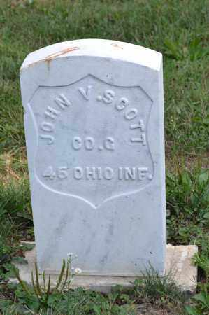 SCOTT, JOHN V. - Union County, Ohio   JOHN V. SCOTT - Ohio Gravestone Photos