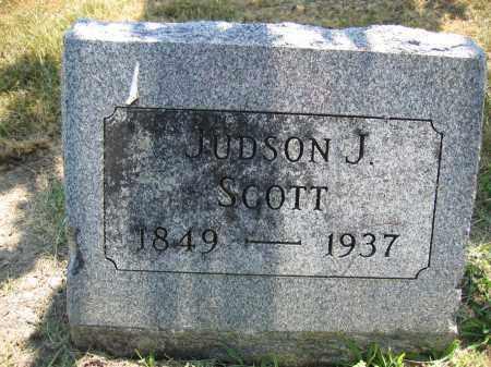 SCOTT, JUDSON J. - Union County, Ohio   JUDSON J. SCOTT - Ohio Gravestone Photos