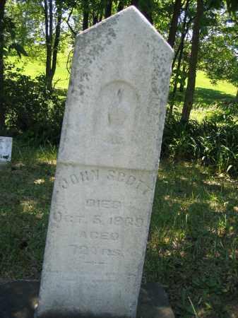 SCOTT, JOHN - Union County, Ohio | JOHN SCOTT - Ohio Gravestone Photos
