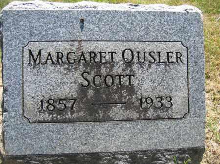 SCOTT, MARGARET OUSLER - Union County, Ohio | MARGARET OUSLER SCOTT - Ohio Gravestone Photos