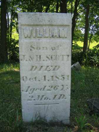 SCOTT, WILLIAM - Union County, Ohio   WILLIAM SCOTT - Ohio Gravestone Photos